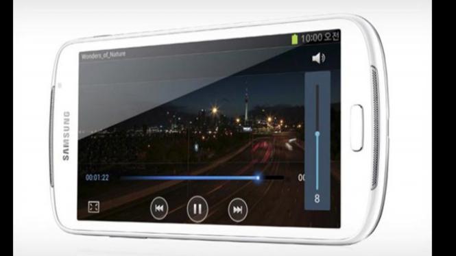 Samsung Galaxy Fonblet 5.8, Smartphone Android Layar 5.8 Inchi