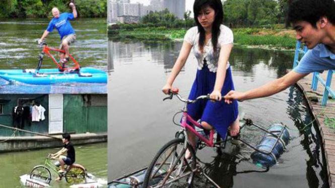Sepeda Apung