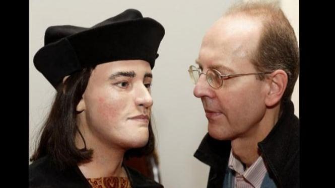 Wajah King Richard III dengan keturunannya Michael Ibsen