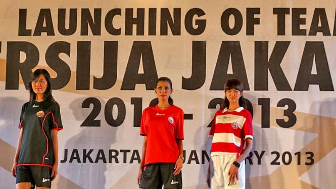 Launching Of Team Persija Jakarta
