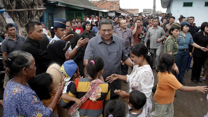 SBY kunjungi TPI Tanjung Pasir