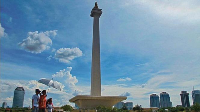 Ilustrasi/Monumen Nasional