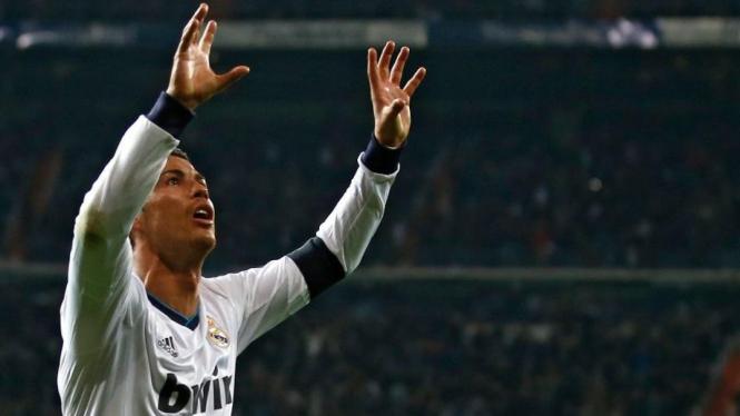 Cristiano Ronaldo jadi kapten Real Madrid