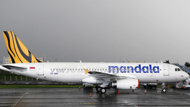 A320 Mandala Airlines