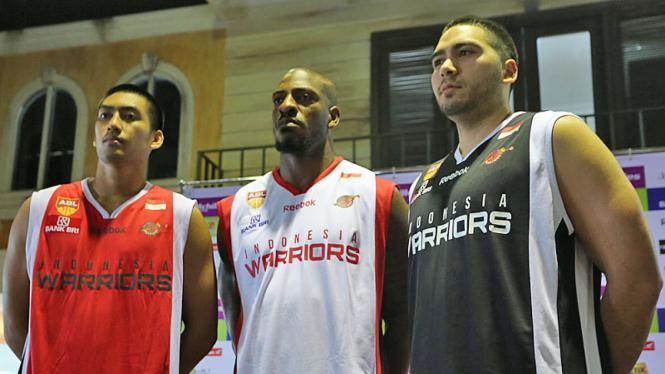 Peluncuran Tim Indonesia Warriors