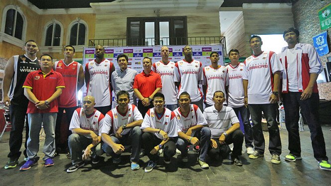 Peluncuran Tim Indonesia Warriors