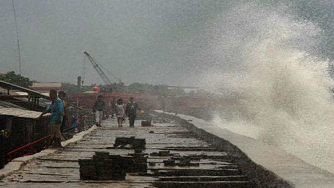 cuaca ekstrim melanda Sulawesi Utara