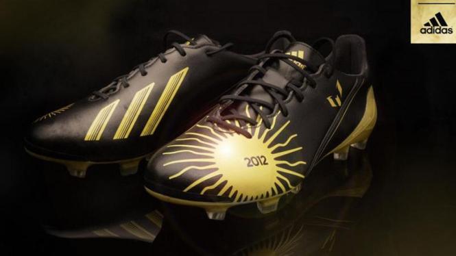 Sepatu khusus Ballon d'Or f50 Lionel Messi