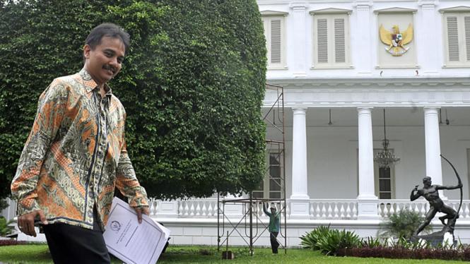 Roy Suryo usai dipanggil Presiden SBY