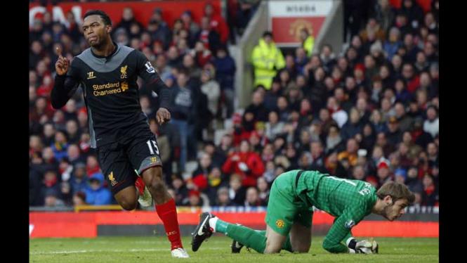 Manchester United vs Liverpool 2013
