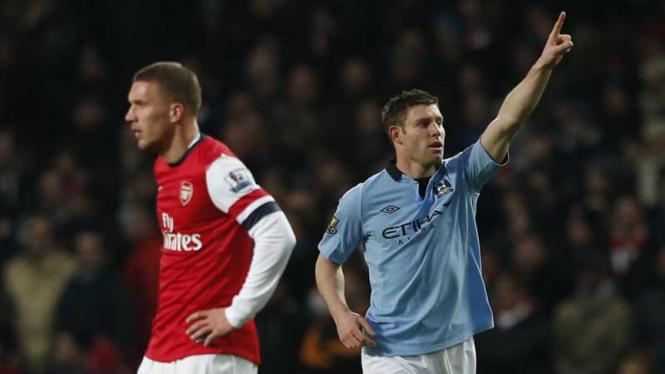 Arsenal vs Manchester City 2013