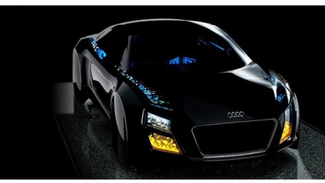 Pancahayaan canggih pada mobil Audi