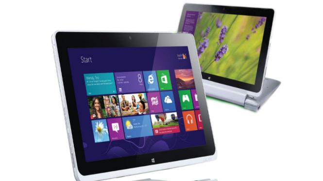 Acer Iconia PC tablet dengan Windows8