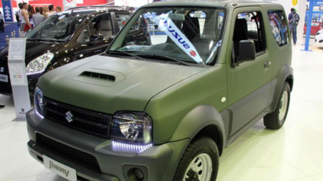 Suzuki Jimny Explorer bergaya Amry Look