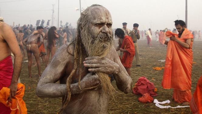 Festival Kumbh Mela di India