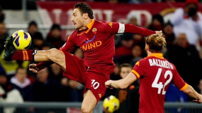Kapten AS Roma, Francesco Totti