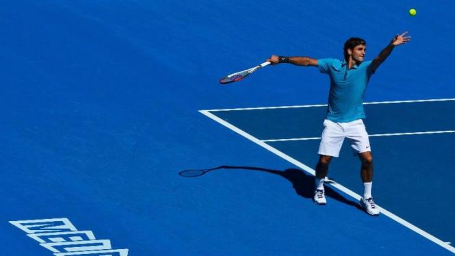 Roger Federer di Australian Open 2013