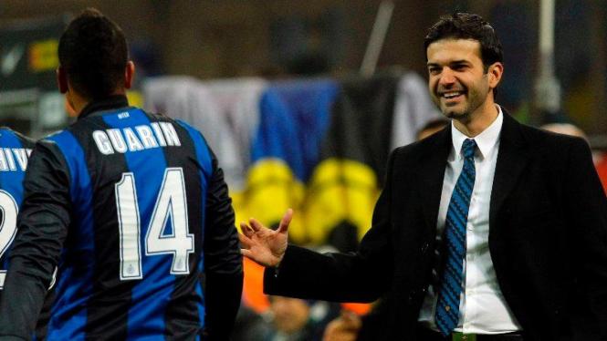 Andrea Stramaccioni di laga Inter vs Bologna