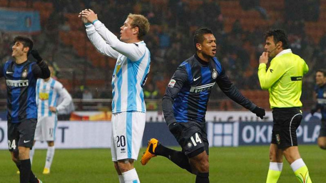 Inter Milan vs Bologna di perempat final Coppa Italia