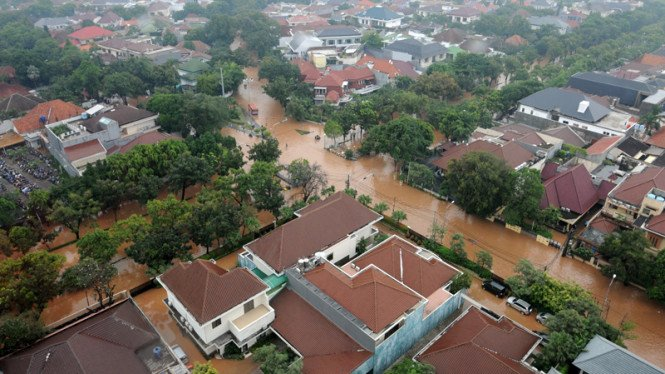 Banjir di Thamrin