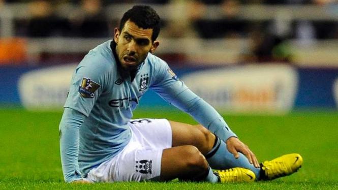 Striker Manchester City, Carloz Tevez