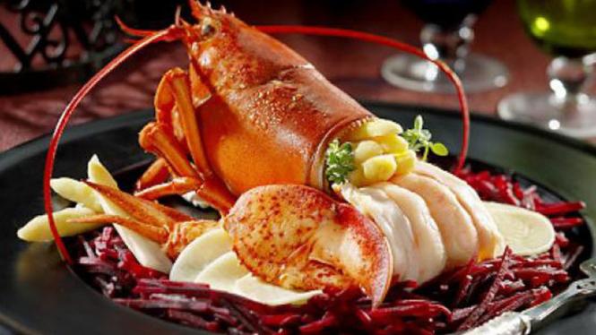Lobster hidangan inagurasi Presiden Obama