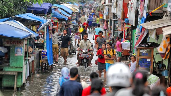 Banjir di Tanah Merah
