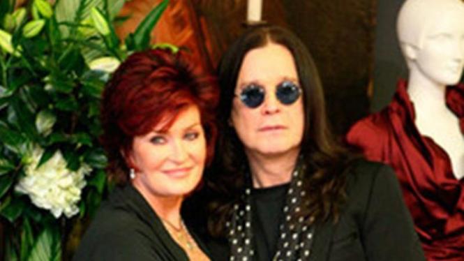 Ozzy dan Sharoon Osbourne