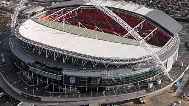 Stadion Wembley di Kota London, Inggris