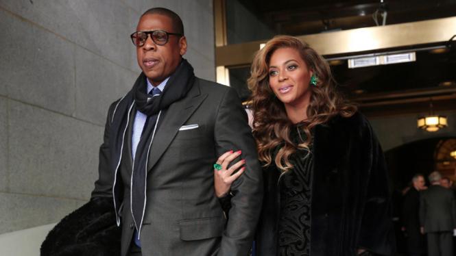 Beyonce dan Jay-Z.