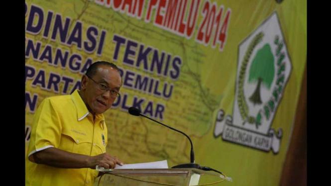 Aburizal Bakrie di Pembukaan Rakornis Pemenangan Pemilu Wil. Jawa I