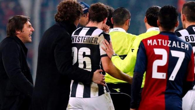Reaksi Manajer Juventus, Antonio Conte usai ditahan imbang Genoa