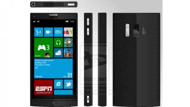 Nokia EOS adalah seri Lumia yang memiliki kamera 41 MP