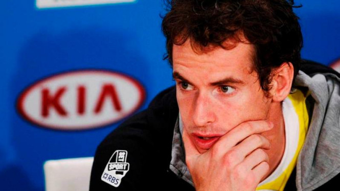 Andy Murray di Australian Open 2013