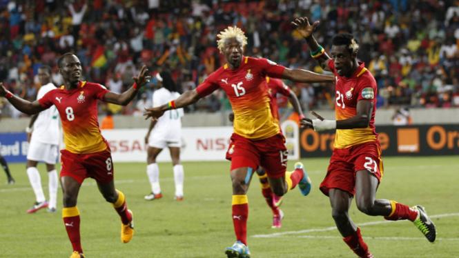 Ghana Taklukkan Niger