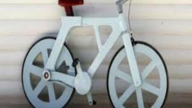 sepeda kardus