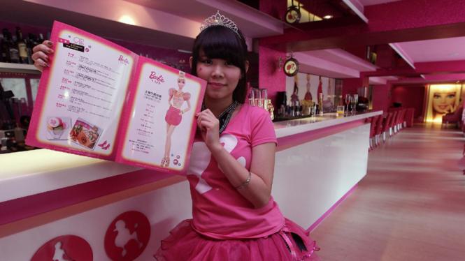 Barbie Cafe di Taipei