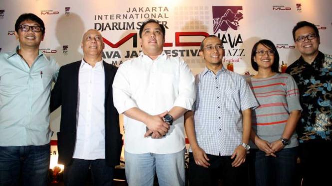 Jelang Java Jazz Festival  2013