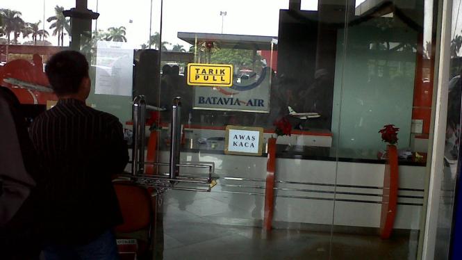 Kantor Batavia Air di bandara Soekarno-Hatta