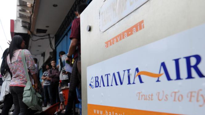 Calon Penumpang Batavia Tuntut Refund Tiket