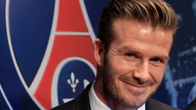 David Beckham diperkenalkan PSG