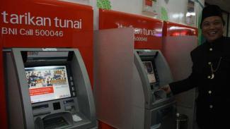 galeri ATM pertama BNI Syariah