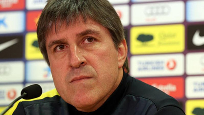 Asisten pelatih Barcelona, Jordi Roura