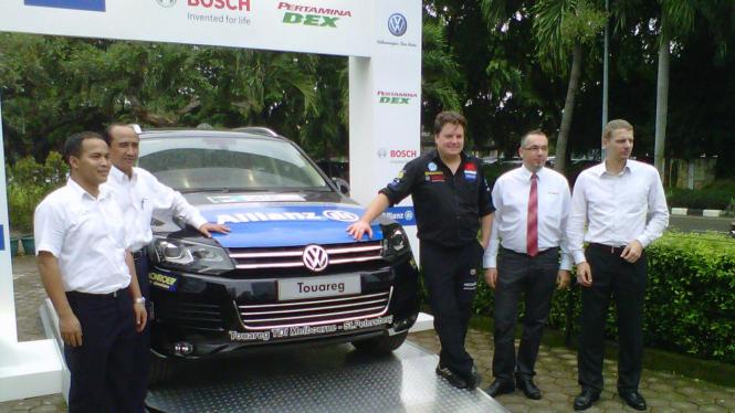 Challange4 dengan VW Touareg V6 TDI