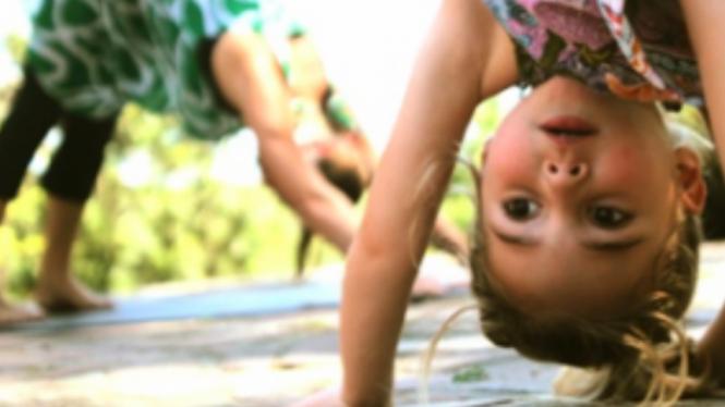 yoga untuk anak-anak