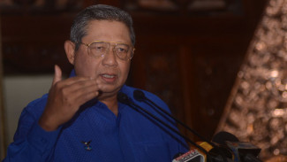 Ketua Majelis Tinggi Partai Demokrat Susilo Bambang Yudhoyono