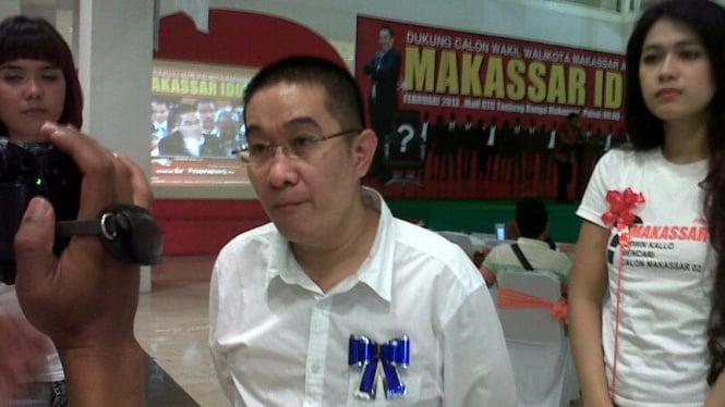 Bakal calon Walikota Makassar, Erwin Kallo