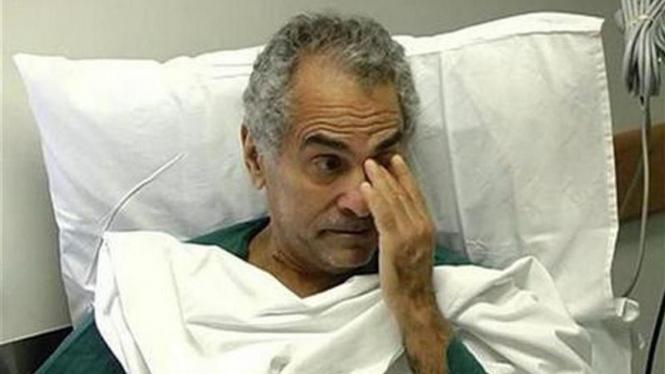 Ramos Horta menjalani perawatan setelah ditembak pada 11 Februari 2008