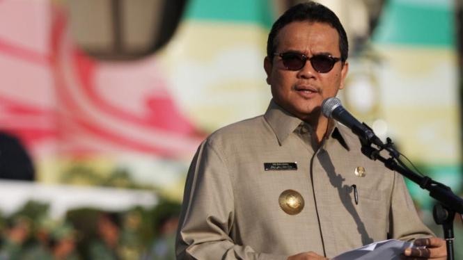 Gubernur Riau Rusli Zainal