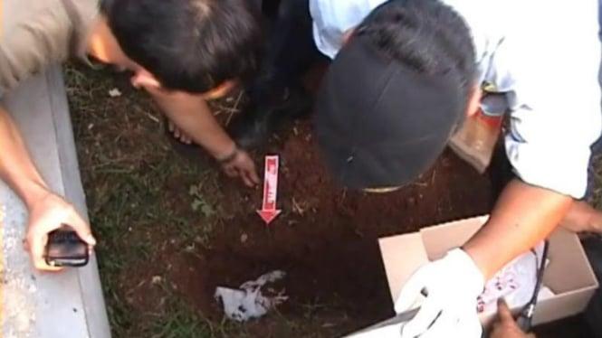 Penemuan jasad bayi perempuan berusia sekitar dua bulan di Bekasi